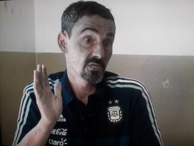 Álvarez habló en TyC Sports y culpó a los Moyano de la amenaza a Holan, en octubre pasado.