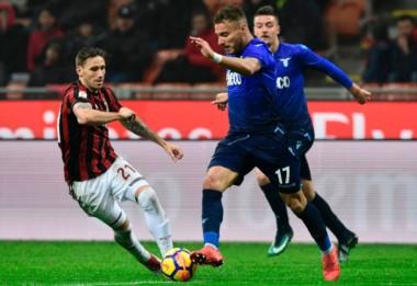 Biglia fue titular en el empate entre Milan y Lazio.
