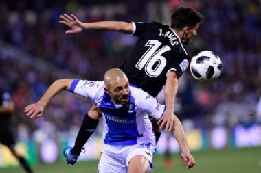 Leganés y Sevilla empataron 1 a 1 en el cotejo de ida de semifinales de la Copa del Rey.