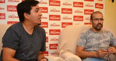 Carlos Sepúlveda y Diego Oria de Si.Sa.P se acercaron a la redacción de Diario Jornada.