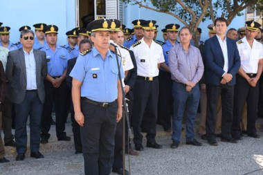 El comisario general Miguel Gómez, puso en funciones al comisario mayor Cerdá al frente de la Regional.