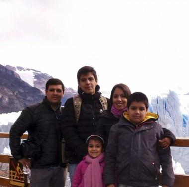 Esta es la familia que murió trágicamente en un accidente en Chile.
