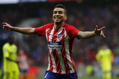 Ángel Correa marcó el primer gol, luego Diego Costa volvió a marcar en su regreso al Aleti.