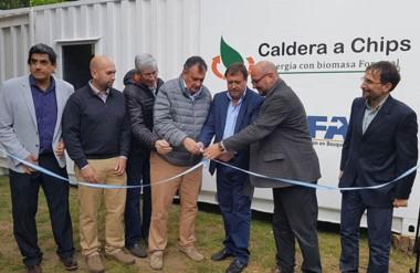 La caldera fue probada en el Centro de Investigación y Extensión Forestal Andino Patagónico (CIEFAP).