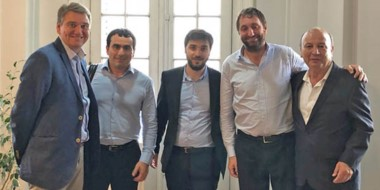 Empresarios de Chubut se reunieron con funcionarios nacionales.