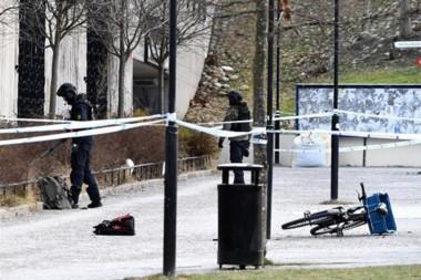 La Policía sueca ha acordonado la zona y descarta de momento la posibilidad de un ataque terrorista.