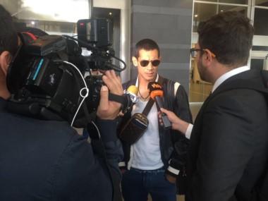 José Sand ya está en Cali. Mañana revisión médica y el martes firma por un año con el Deportivo.