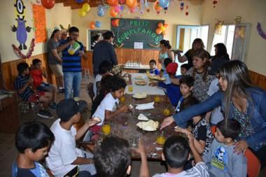 Chicos. Uno de los Centros Juveniles que sumará otra propuesta para la contención social y familiar.