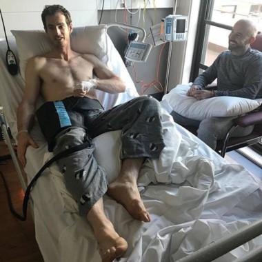 Andy Murray se sometió a una cirugía de cadera y espera volver en seis meses.