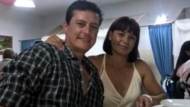 Esta es la pareja que falleció ahogada cuando ella quiso refrescarse y no pudo salir del río y él intentó salvarla.