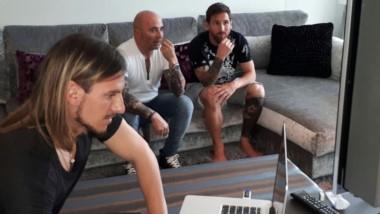 Jorge Sampaoli se reunió con Lionel Messi de cara al Mundial.