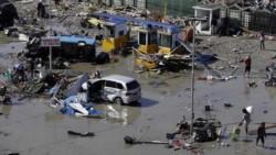 Tsunami en Indonesia se generó después del sismo de 7.5M.