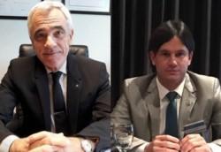 Los doctores Mario Vivas y Julián Jalil, coordinadores del Congreso