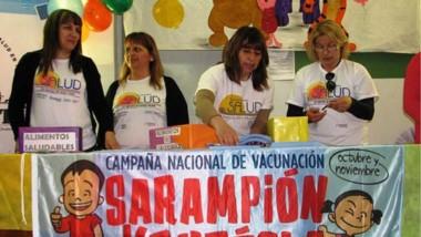 """El lanzamiento de la campaña se realizó en el Hospital """"Santa Teresita""""."""