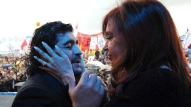 Maradona sorprendió al señalar que estaría dispuesto a integrar una fórmula presidencial con la actual senadora Cristina Fernández de Kirchner.