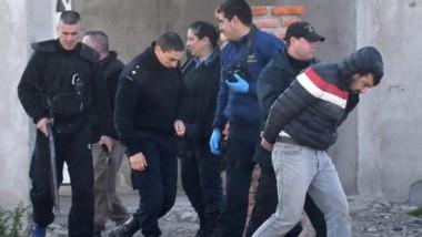 El robo se produjo en la mañana de ayer en pleno centro de Rawson. Las detenciones fueron en la zona norte