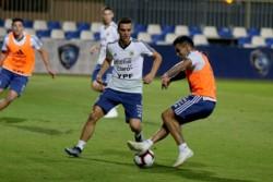 El equipo de Lionel Scaloni realizó su último entrenamiento antes del primer amistoso de la gira por Arabia Saudita ante Irak.