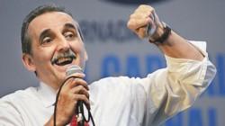 """Moreno aseguró que """"solo se puede ser feliz en un gobierno peronista"""", antes del acto que organiza para el próximo sábado en el que tiene previsto lanzar su candidatura presidencial."""