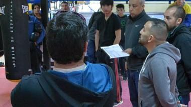 """El """"Huracán"""" Narváez es el encargado de la delegación chubutense de boxeo que viajará a Mar del Plata."""