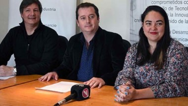 Demián Barry, Nicolás Zurakosi y Claudia González brindaron los detalles.
