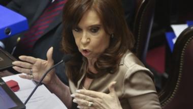 Cristina Kirchner adelantó esta tarde que su bloque no acompañará el proyecto de comunicación para dejar sin efecto el aumento del gas.