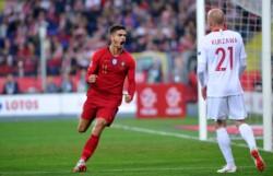 Portugal venció a Polonia y lidera su grupo en la Liga de Naciones.