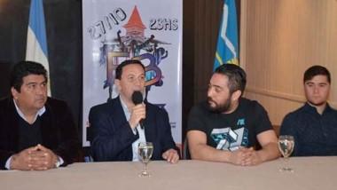 El intendente Adrián Maderna participó del lanzamiento del evento.