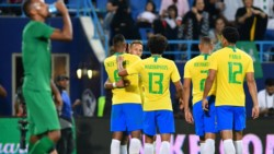 Con goles de Jesus y Sandro, Brasil venció a Arabia Saudita, antes de jugar con Argentina.