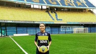 """""""Yoko"""" Barrera está disputando en la actualidad su tercera temporada en Boca Juniors."""