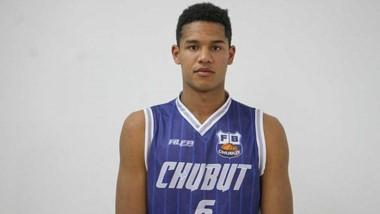 El joven dominicano Carlos Balmaceda, se destacó en el Argentino de Selecciones con la camiseta de Chubut.