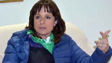 Vilma Ripoll pasó por la redacción de Diario Jornada junto a la dirigente social Mónica Sulle.
