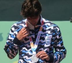 Facu Díaz Acosta cayó 6-4 7-5 en la final ante el francés Hugo Gastón, que fue oro.