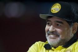 Maradona le tiene fe mañana a Boca y al equipo mexicano que dirige, Dorados.