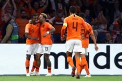 Dijk, Depay y Wijnaldum le dieron la victoria contundente a Holanda contra Alemania.