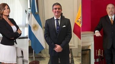 Lina Anllo, Claudio Lamela y Luis M. Vila, autores de la nota.