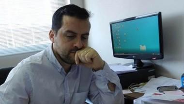 El funcionario de Fiscalía, Ismael Cerda, atiende de cerca los casos.