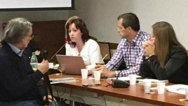La secretaria de Ciencia, Tecnología e Innovación Productiva, Noelia Corvalán Carro, participó de la reunión.