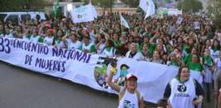 """""""Estamos peleando por la aplicación de la Educación Sexual Integral que es tan importante. También la separación del Estado y la  Iglesia"""", dijo Celeste Fierro"""