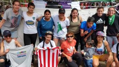 """Racing participó del """"5to Encuentro de Mujeres que juegan al Fútbol""""."""