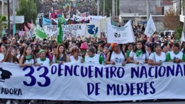Impresionante. La marcha transitando la calle Pellegrini, al norte de la ciudad. Se calcula que participaron unas 55 mil personas.