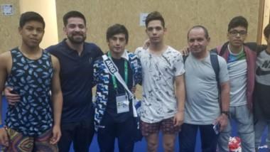 Almendra le dio a Chubut su primera medalla olímpica en un Juego de la Juventud. Para la historia.