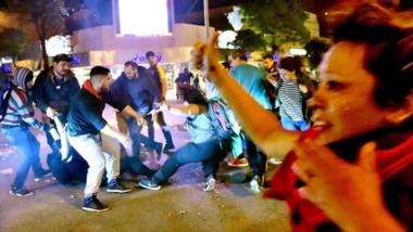 """Las organizadoras criticaron el accionar del """"aparato represivo estatal""""."""