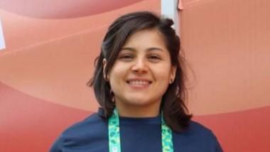 Cinthia Cádiz es de Rada Tilly y participa como voluntaria en los JJ.OO.