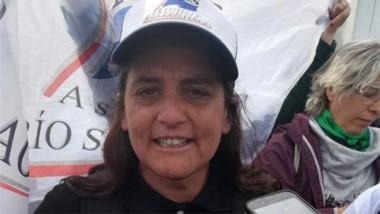 Carolina, representante de las trabajadoras del Astillero.