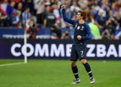 Griezmann marcó un doblete para darle el triunfo al campeón del mundo ante Alemania.