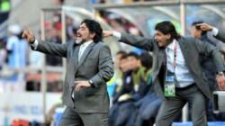 Diego Maradona se ausentó en la primera mediación con Alejandro Mancuso.