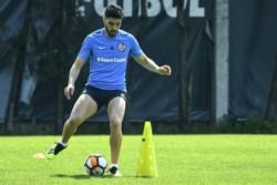 Nicolás Blandi vuelve a ser titular hoy tras superar una lesión.