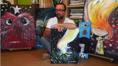 El dibujante Juan Chavetta vuelve  a la feria del Libro de Trelew.