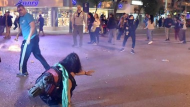 Los incidentes se registraron en cercanías a la plaza Independencia y en el sector frente al casino local.