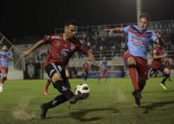 Brown de Adrogué lo ganaba con gol de Garate pero Rossi apareció en tiempo adicionado y marcó el 1-1 final para Central Córdoba.